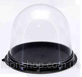 Купол пластиковий чорний