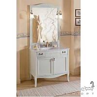 Мебель для ванных комнат и зеркала Gallo Комплект мебели Gallo Viola 90-S Patinata avorio VP-90 мрамор Nero Marquina