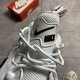 Nike Air Barrage White Black (Білий), фото 2