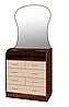 Комод з дзеркалом Барклай 6 ящиків МАКСІ-МЕБЛІ