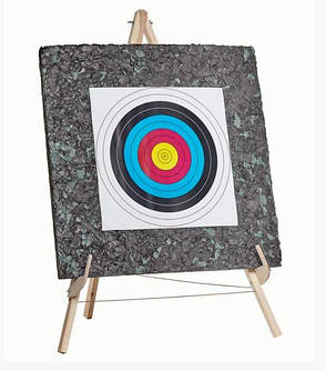 Мишень для стрельбы из арбалета (Стрелоуловитель) 1000х1000х100мм, фото 2
