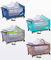 Дитяче ліжко манеж Caretero Plus Grande
