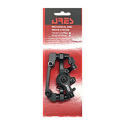 Калипер ARES RM5 дисковый механический с адаптером 180/160 мм Черный
