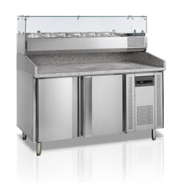 Стіл холодильний для піци TEFCOLD-PT1200-I