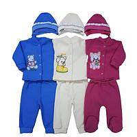 Махровый костюм для новорожденных