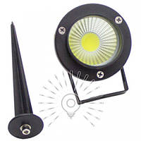 Светильник LED садовый COB 5W 450LM 85-265V 6500K IP65 / LM21  Lemanso