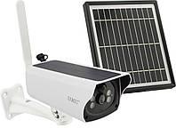 Камера видеонаблюдения с солнечной панелью работающая через 4G SIM 2 mp Y4P