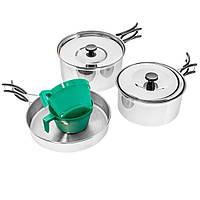 Набір туристичного посуду для кемпінгу Mil-Tec (14647000), фото 1
