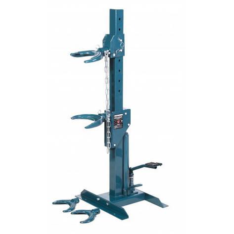 Стяжка пружин гидравлическая напольная с двумя комплектами получаш , фото 2