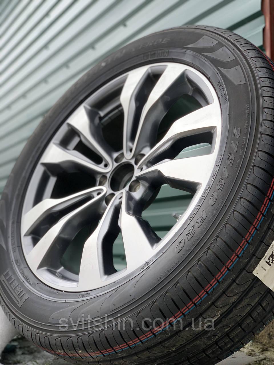 Диски 5/112 R20 Mercedes GLE GLS ML+275/50R20 Pirelli Scorpion Verde