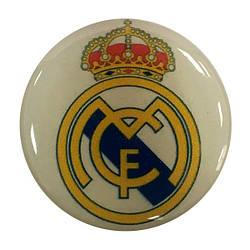 """Попсокет PopSocket 3D 3D """"Реал Мадрид"""" №37 - Тримач для телефону Поп Сокет у блістері з липучкою 3М"""