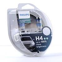 Автолампы Philips X-tremeVision Pro150 H4 60/55W (12342XVPS2), фото 1