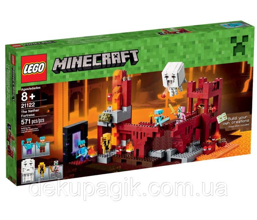 Lego Minecraft Подземная Крепость 21122