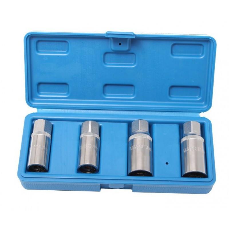 Набір шпильковертов 4пр.(6,8,10,12 мм) в кейсі