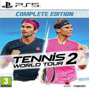 Tennis World Tour 2  Complete Edition (російські субтитри) PS5
