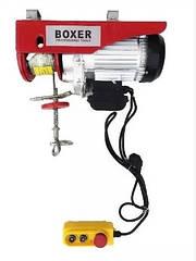 Тельфер электрический лебедка 150/250кг BOXER BX-561 12м 1500Вт. 220W