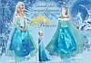 Снежная Королева , Эльза карнавальный , новогодний костюм , платье для девочки