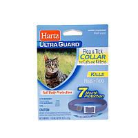 Hartz ошейник для котов от блох и клищей 7мес лиловый Н90745