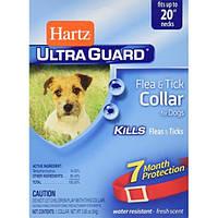 Hartz Ultra Guard Ошейник для собак от блох и клещей 7мес защиты,  51 см красный Н91581
