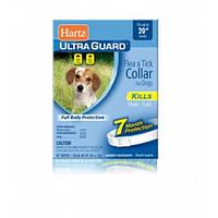 Hartz Ultra Guard Ошейник для собак от блох и клещей белый 7 мес 51 см Н80484