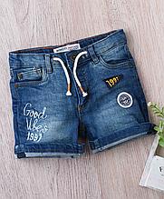 Яркие детские джинсовые шорты для мальчиков 1-3 года, 74-80 см Minoti