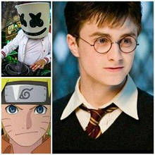 Harry Potter, Marshmelloy, Naruto