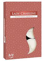 Свеча  ароматическая Леди Шарлин 1.5 см 6 шт (p15-177)