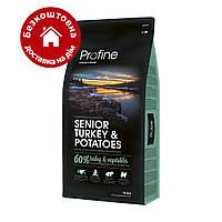 Profine Senior Turkey & Potatoes 15кг- корм для пожилых собак с индейкой
