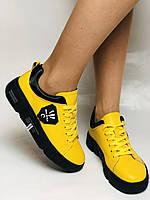 Farinni.Стильні жіночі кеди-білі кросівки.Натуральна шкіра. Висока якість 38 Vellena, фото 10