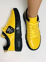 Farinni.Стильні жіночі кеди-білі кросівки.Натуральна шкіра. Висока якість 38 Vellena, фото 6
