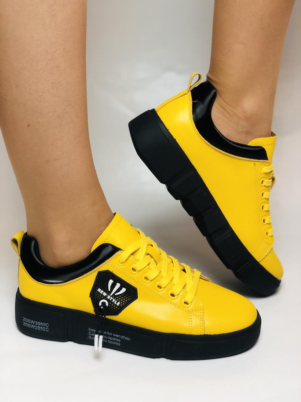 Farinni.Стильні жіночі кеди-білі кросівки.Натуральна шкіра. Висока якість 38 Vellena