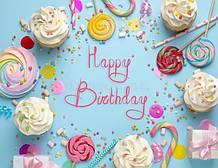 З Днем народження та Happy birthday