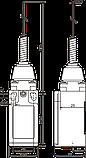 Выключатель путевой FLS15M412P 66 пластик ( ВП 15П 42412-65), фото 2