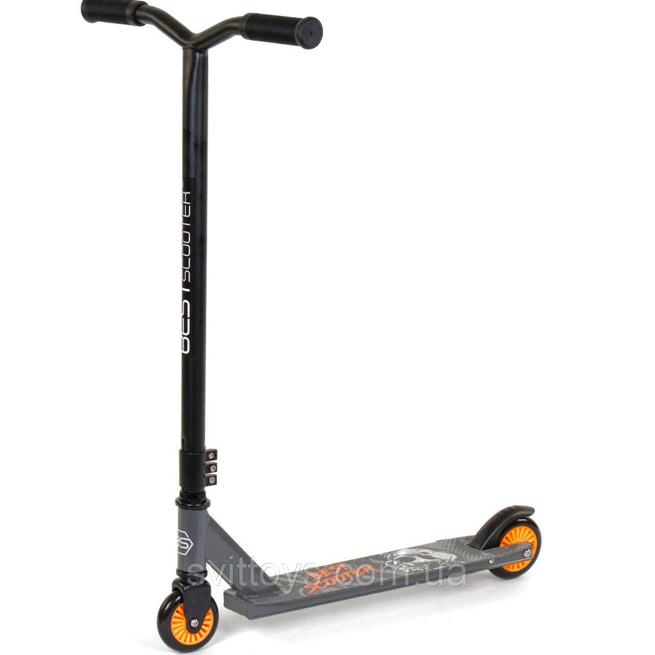 Самокат трюковий 70329 Best Scooter PU колеса d=10см