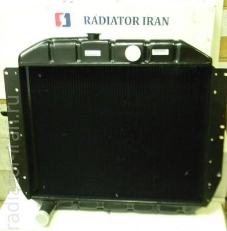 Радиатор ЗИЛ 130 3 рядный медный пр-во Иран Радиатор