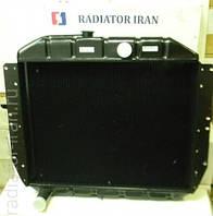 Радиатор УАЗ охлаждения водяной (Буханка, Хантер и т.д.) 2-х рядный медный