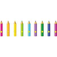 """Магнитные стенды для выставки детских рисунков для детского сада """"Карандаши"""""""