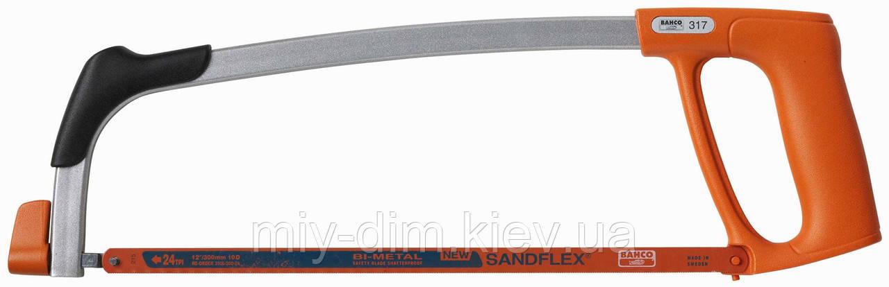Ножівка д/металу №317 д/важкодост.місць, 300мм /Bacho