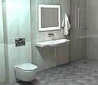 Унитаз для инсталляции настенный белый ROCA MERIDIAN A34H242000 с сиденьем с микролифтом 71974, фото 4