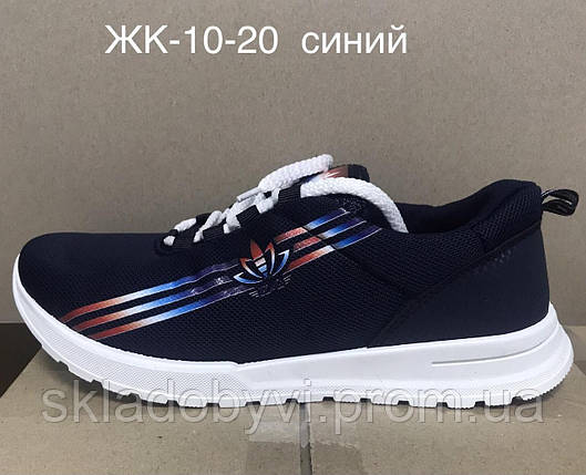 Мокасины женские ЖК-10-20 синие, фото 2