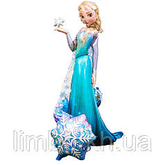 Ходячая шар фигура Эльза
