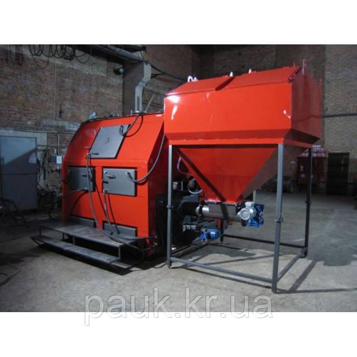 Промисловий пелетний котел 700 кВт РЕТРА-4М Bio, котел для пелет з бункером