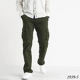 Чоловічі штани хакі карго Iteno 1-1959-5