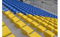Пластиковые сиденья на трибуны стадиона оптом дешево