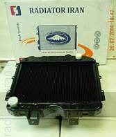 Радиатор УАЗ охлаждения водяной 3-х рядный медный (Буханка, Хантер и т.д.)