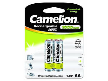 Акумулятори Camelion Ni-Cd (R-06,1000 mAh)/блістер 2шт (12)
