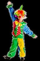 Клоун новогодний карнавальный костюм / BL -  ДС41