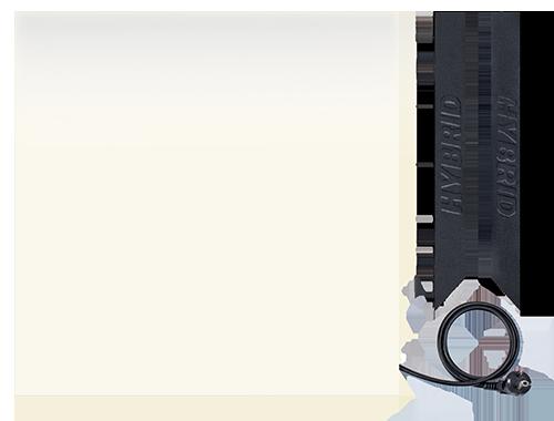 характеристики керамической электронагревательной панели HYBRID