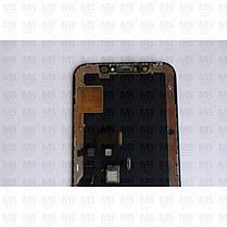 """Дисплей iPhone X (5.8"""") Black, оригінал з рамкою (відновлене скло), фото 3"""