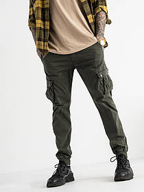 Чоловічі сірі штани-джоггеры Iteno 1-6510-12